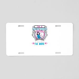 Women Postal Worker Aluminum License Plate