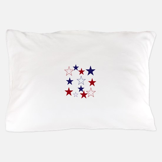 Stars for the 4th Pillow Case