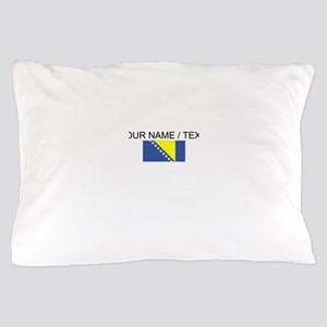 Custom Bosnia and Herzegovina Flag Pillow Case