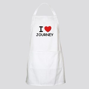 I love Journey BBQ Apron