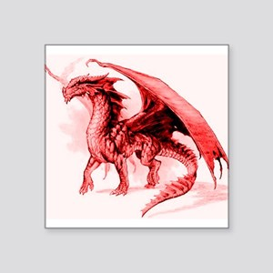 Red Dragon Sticker