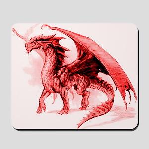 Red Dragon Mousepad