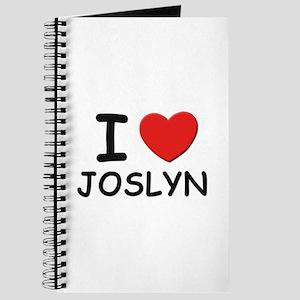 I love Joslyn Journal