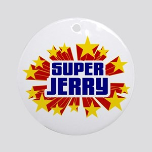 Jerry the Super Hero Ornament (Round)