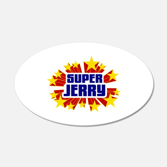 Jerry the Super Hero Wall Decal