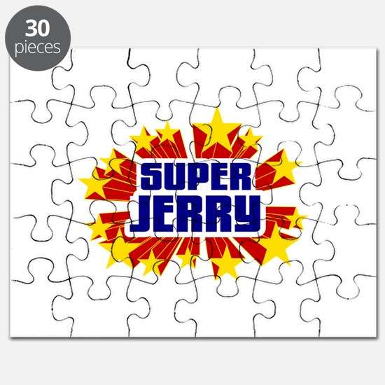 Jerry the Super Hero Puzzle