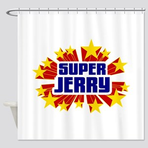 Jerry the Super Hero Shower Curtain