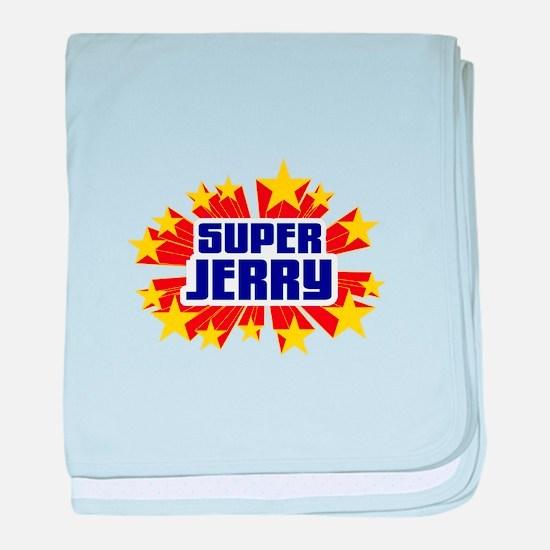 Jerry the Super Hero baby blanket