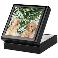 Hannah and Maggie Keepsake Box