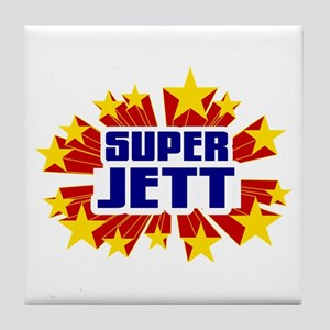 Jett the Super Hero Tile Coaster