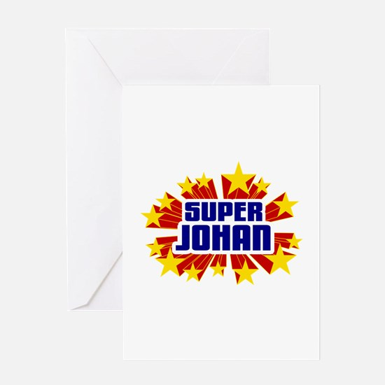 Johan the Super Hero Greeting Card