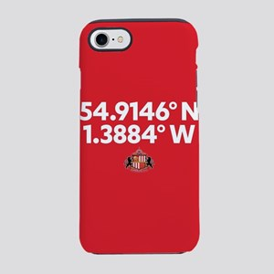 Sunderland Stadium Coordinates iPhone 7 Tough Case