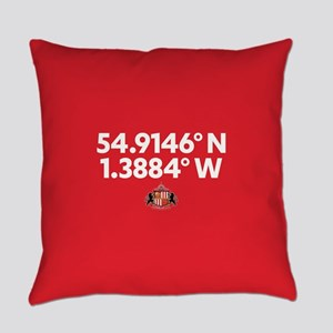 Sunderland Stadium Coordinates Ful Everyday Pillow