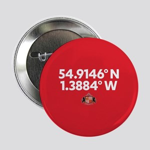 "Sunderland Stadium Coordinates Full B 2.25"" Button"
