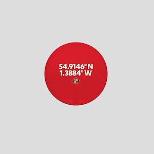 Sunderland Stadium Coordinates Full Bl Mini Button