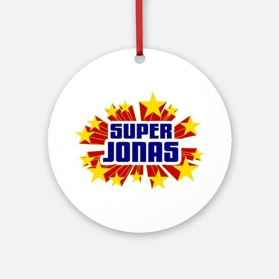 Jonas the Super Hero Ornament (Round)