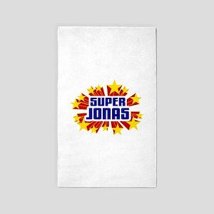 Jonas the Super Hero 3'x5' Area Rug