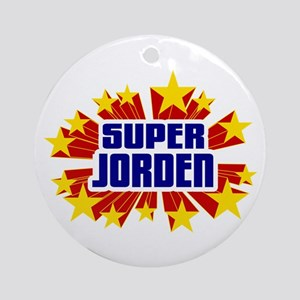 Jorden the Super Hero Ornament (Round)