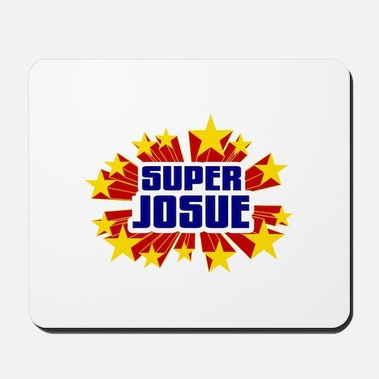Josue the Super Hero Mousepad