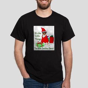 Rat Terrier Christmas Dark T-Shirt