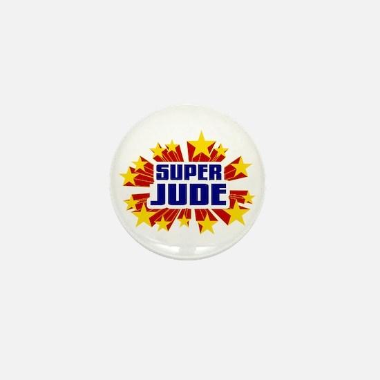 Jude the Super Hero Mini Button