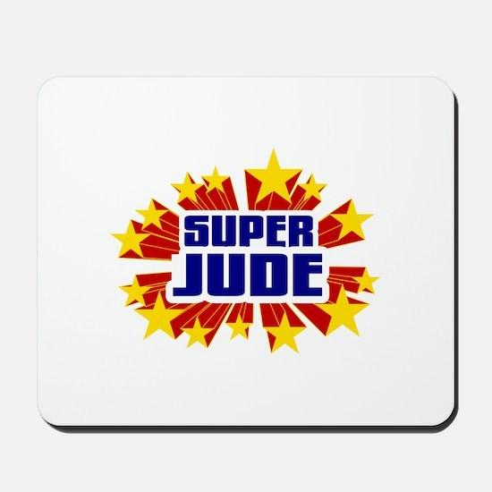 Jude the Super Hero Mousepad