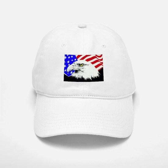4th of july eagle_flag Baseball Baseball Baseball Cap
