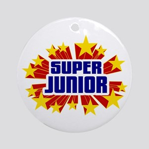 Junior the Super Hero Ornament (Round)
