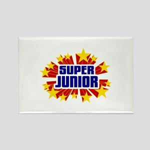Junior the Super Hero Rectangle Magnet