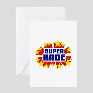 Kade the Super Hero Greeting Card