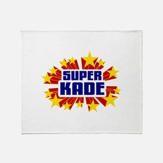 Kade the Super Hero Throw Blanket