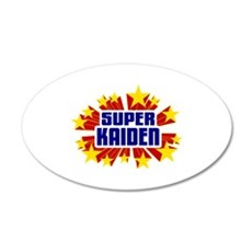 Kaiden the Super Hero Wall Decal