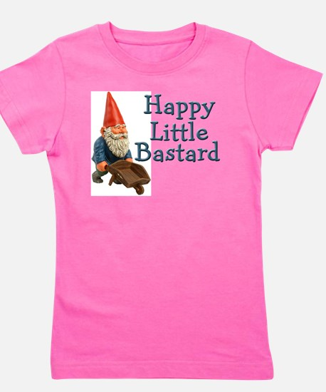 happygnome.png Girl's Tee
