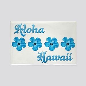 Aloha Hawaii Rectangle Magnet