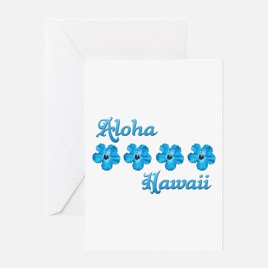 Aloha Hawaii Greeting Card