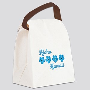 Aloha Hawaii Canvas Lunch Bag