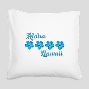 Aloha Hawaii Square Canvas Pillow