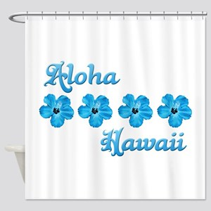 Aloha Hawaii Shower Curtain