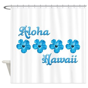 Hawaiian Shower Curtains