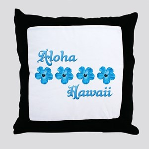Aloha Hawaii Throw Pillow