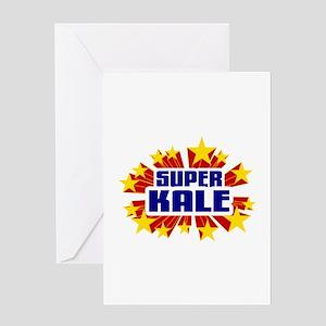 Kale the Super Hero Greeting Card