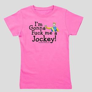 jockey_white Girl's Tee