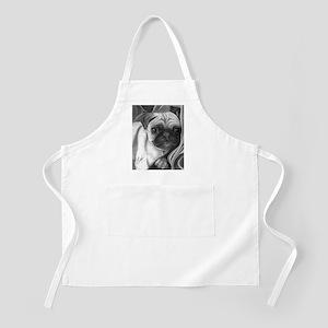 pug puppy BBQ Apron