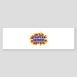 Kamron the Super Hero Bumper Sticker