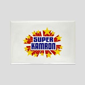 Kamron the Super Hero Rectangle Magnet