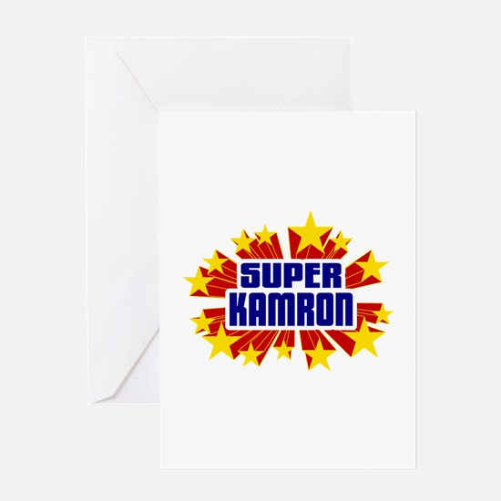 Kamron the Super Hero Greeting Card