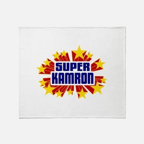 Kamron the Super Hero Throw Blanket