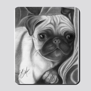 pug puppy Mousepad