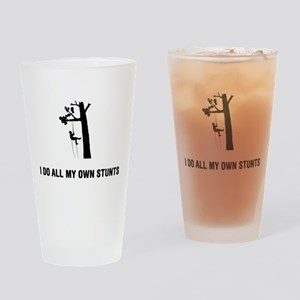 Tree Climbing Drinking Glass