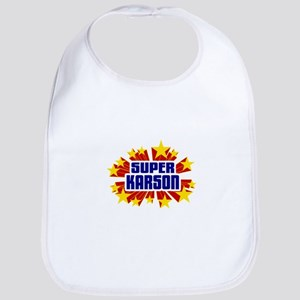 Karson the Super Hero Bib
